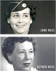 Jane and Esther Ross